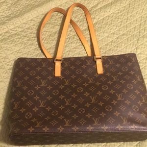 💯 Auth Louis Vuitton Luco Laptop/Office/ Tote Bag